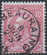 N° 46 Oblitération BEAURAING - 1884-1891 Léopold II