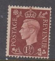 Great Britain SG 464 1937 King George VI, Three Half Pence, Mint Hinged - 1902-1951 (Re)