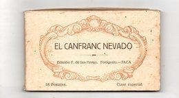 El Canfranc Nevado. Carnet De Cartes Postales. - Huesca