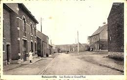 Buissonville - Les Ecoles Et Grand'Rue (animée) - Rochefort