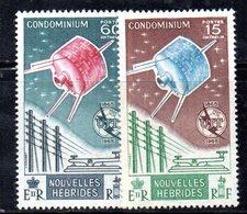 APR536 - NUOVE EBRIDI HEBRIDES 1965 , Yvert N. 211/212  ***  (2380A).  UIT - Leggenda Francese