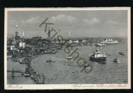 Hamburg - Blick Von Der Elbe Auf Die Stadt [AA40-6.146 - Allemagne