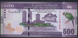 SRI LANKA P126a 500 RUPEES 2010 #T/1 UNC. - Sri Lanka