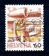SVIZZERA - HELVETIA - Year 1987 - Viaggiato - Traveled - Voyagè - Gereist. - Oblitérés