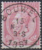 N° 46 Oblitération BOUWEL (dents Courtes En Bas - Korte Tanden) - 1884-1891 Léopold II