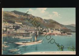 Monte Carlo - Vue Prise De Monaco [AA40-6.260 - Non Classés