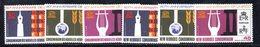 APR539 - NUOVE EBRIDI HEBRIDES 1966 , Yvert N. 249/254  ***  (2380A).  INGLESE E FRANCESE UNESCO - Leggenda Francese