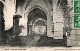 BAYE, Intérieur De L'église - France