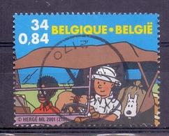 Belgie  - 2001 - OBP - Kuifje In Congo - Belgique