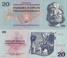 Czechoslovakia - 20 Korun 1970 UNC Lemberg-Zp - Tchécoslovaquie