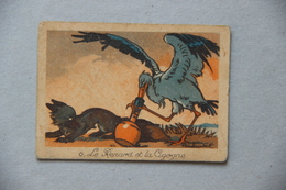 Le Renard Et La Cigogne, Illustrateur Raylambert - Documentos Antiguos