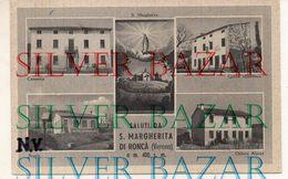 SALUTI DA S. MARGHERITA DI RONCA' - VERONA - METRI 400 S.M. - Verona