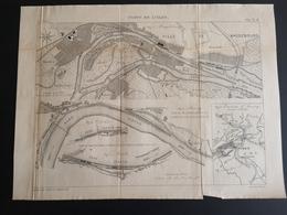 ANNALES DES PONTS Et CHAUSSEES (Allemagne) - Ports De L'Elbe - Gravé Par Macquet 1891 (CLF87) - Obras Públicas