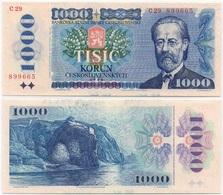 Czechoslovakia - 1000 Korun 1985 AUNC Lemberg-Zp - Checoslovaquia