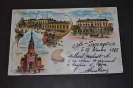 Russie Carte Postale 1898 Sosnowice - Russie