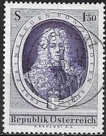 AUSTRIA 1963 Birth Tercent Of Prince Eugene Of Savoy - 1s50 Prince Eugene Of Savoy FU - 1945-.... 2ème République