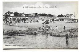 PREFAILLES - La Plage Vue De La Mer - Préfailles