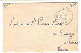 16527 - Du S.P.   88106 - Marcophilie (Lettres)