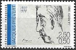 France - 1991 Yt 2685 Jacques Prevert - France