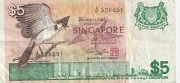 5 Dollar 1976 - Singapore