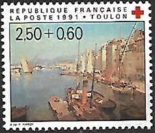 France - 1991 Yt  C.r Toulon - France