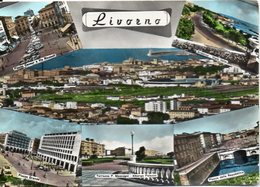 Livorno - Piazza Cavour E Via Ricasoli - Ardenza-Viale Italia - Piazza Grande - Terrazza P. Mascagni-Albergo Palazzo.... - Livorno