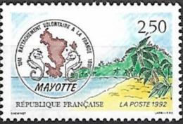 France - 1991 Yt 2735 150è Anniversaire Du Rattachement De Mayotte - France