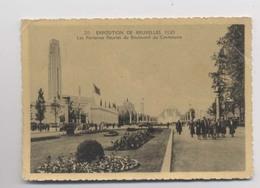 Exposition Universelle De 1935 - Boulevard Du Centenaire - Bruxelles - Animée - Wereldtentoonstellingen