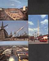 4 Petites Photos Epicarte  (Atomium Bus Expo 1958) - Chromos