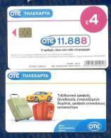 "GREECE: X-2282 OTE Information Catalogue 11888 ""Travel"" 50.000ex (08/11) - Greece"
