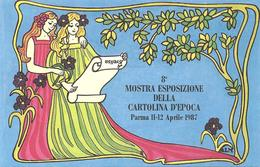 ITALIA - 1987 PARMA 8^ Mostra Esposiz. Cartolina D'epoca  Ann. Ord. S.LAZZARO PARMENSE - Pubblicitari