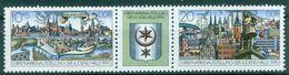 DDR 1990 / MiNr.    3338 - 3339  Dreierstreifen    ** / MNH   (r1723) - Neufs
