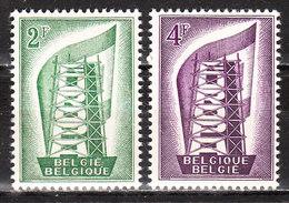 994/995**  Europa 1956 - Série Complète - MNH** - Vendu à 10% Du COB!!!! - Belgique