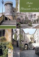 1 AK Italien Italy * Ansichten Der Stadt Bracciano - U.a. Castello Orsini-Odescalchi * - Autres Villes