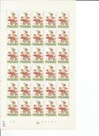 OCB 1751 Postfris Zonder Scharnier ** Volledig Vel ( Plaat 4 ) Lager Dan De Postprijs - Feuilles Complètes