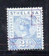 APR547 - ST. HELENA 1890 ,  Yvert N. 24 Usato D'ufficio  (2380A). - Isola Di Sant'Elena