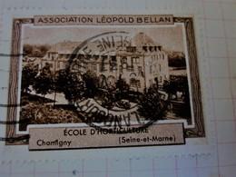 1931 CHAMIGNY Seine& Marne Ecole Horticulture Association Léopold Bellan-Timbre Vignette Erinnophilie-Neuf * - Turismo (Viñetas)