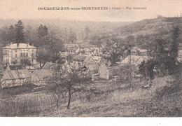 CPA BOURGUIGNON-SOUS--MONTBAVIN (01) VUE GENERALE - France