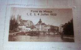 1933 FOIRE DE MEAUX -Timbre Vignette Erinnophilie-Neuf * - Erinnophilie