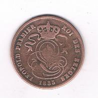 2 CENTIMES 1835   BELGIE/3466/ - 02. 2 Centimes