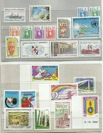 Nelle Calédonie 1984-2006 Neufs ** MNH Cote YT 214€45 , 13 Scanns - Lots & Serien