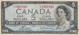 5 Dollar 1954 - Canada