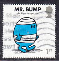 2016 GB - Mr Men And Little Miss - Mr. Bump - SG3893 1st -  Used - 1952-.... (Elizabeth II)