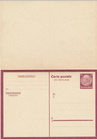 DR / Belgien - 1941 , Hindenburg - Carte Postale Avec Reponse Payee - Besetzungen 1938-45