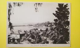 VUE GÉNÉRALE DE MANTON Carte Photo 22,5 X 15,5 Année 30 - Menton
