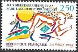 France - 1993 Yt 2795 Jeux Mediterraneens Agde - France
