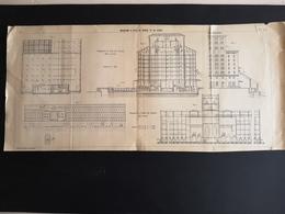 ANNALES DES PONTS Et CHAUSSEES (Italie) - Magasins A Blés De Venise Et De Gènes - 1906 (CLF99) - Obras Públicas