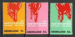 Nederland Pay Bas Olanda Netherlands 1970, Heart Herz Hart **, MNH - Periode 1949-1980 (Juliana)