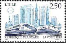 France - 1993 Yt 2811societes Philateliques De Lille - France
