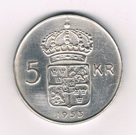 5 KRONA 1955 ZWEDEN /3471/ - Suède